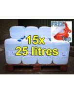 De-ionised Water (25 litres) x 15