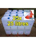 De-ionised Water (25 litres) x 25