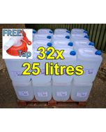 De-ionised Water (25 litres)  x 32
