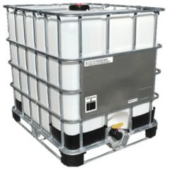 1,000 litre IBC of deionised water