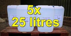 De-ionised Water (25 litres) x 5