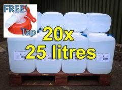 De-ionised Water (25 litres) x 10