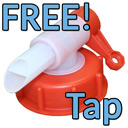 Deionised Water FREE Tap